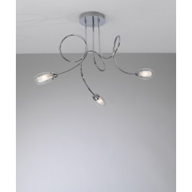 Toplight Feeling 1011/PL3 Lampada Soffitto