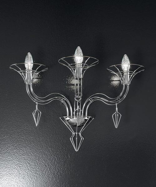 Metal Lux Dedalo 192.101 Lampada Parete 1 Luce 3 Colori