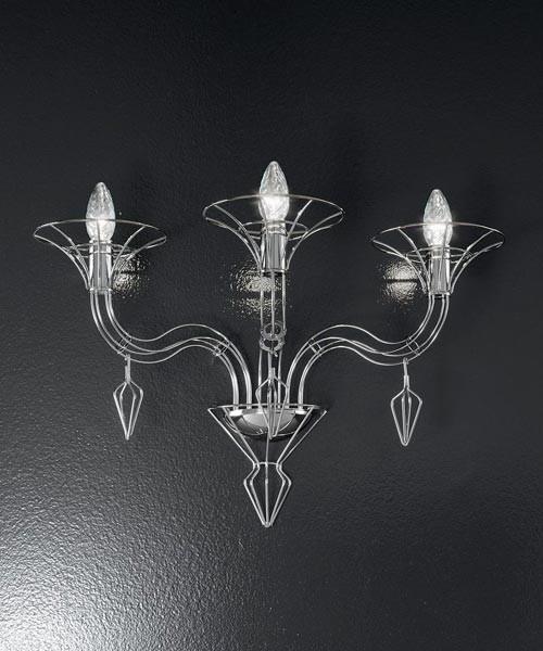 Metal Lux Dedalo 192.102 Lampada Parete 2 Luci 3 Colori