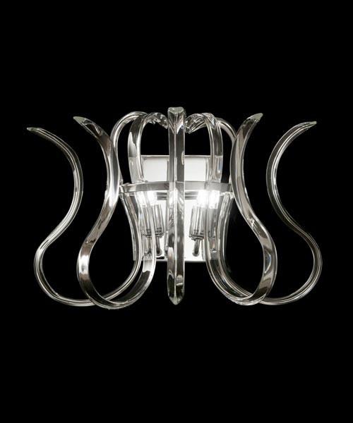 Metal Lux Wave 234.102 Lampada Parete 2 Luci