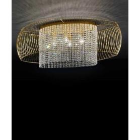 Metal Lux Nido 360 Lampada Soffitto 2 Luci 2 Colori