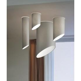 Morosini Pank PL18 Lampada Soffitto Tessuto Diffondente 7 Colori