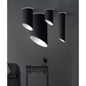 Morosini Pank PL18 Lampada Soffitto Tessuto Coprente 9 Colori