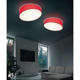 Morosini Pank PL90E Lampada Soffitto Tessuto Diffondente 7 Color