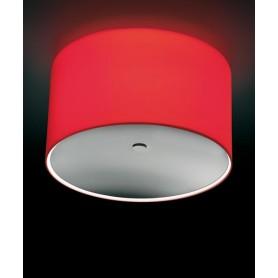 Morosini Round PL Plafoniera Nichel/Vetro Soffiato 2 Colori