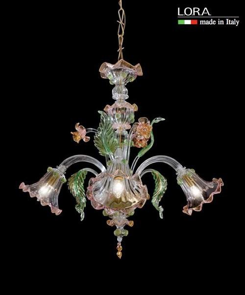Lora Mizar 3065 Lampadario di Murano - Personalizzabile