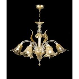 Lora Polaris 3074 Lampadario di Murano - Personalizzabile