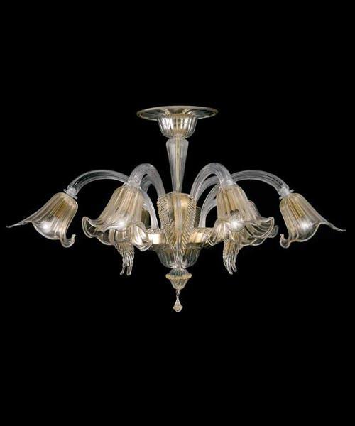 Lora Polaris 3074 Plafoniera di Murano - Personalizzabile