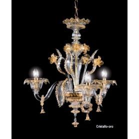 Lora Alcor 3061 Lampadario di Murano - Personalizzabile