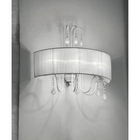 Evi Style Louvre PA60 Lampada Parete 9 Colori 4 Luci