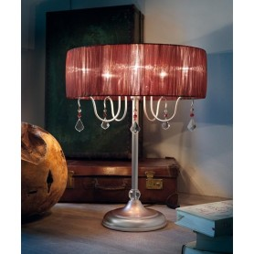 Evi Style Louvre TA Lampada Tavolo 9 Colori 5 Luci
