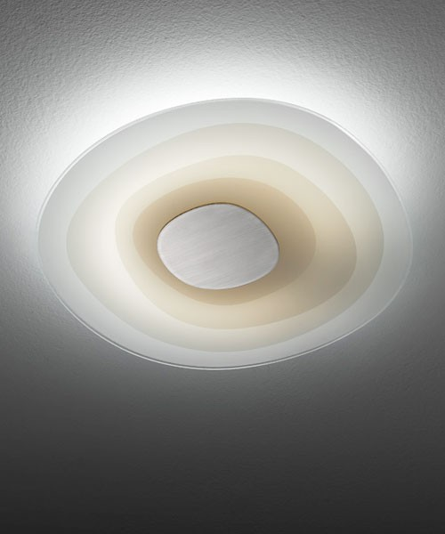 LEUCOS Beta Big Plafoniera Soffitto 2 Luci