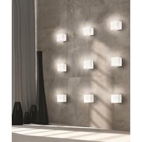 LEUCOS Cubi 11 PPL Lampada Parete/Soffitto 1 Luce