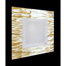 Familamp Corteccia 312 PL60 Parete/soffitto V. Murano 2 Colori