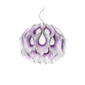 Slamp Flora Small Lampadario 1 Luce Viola R.E