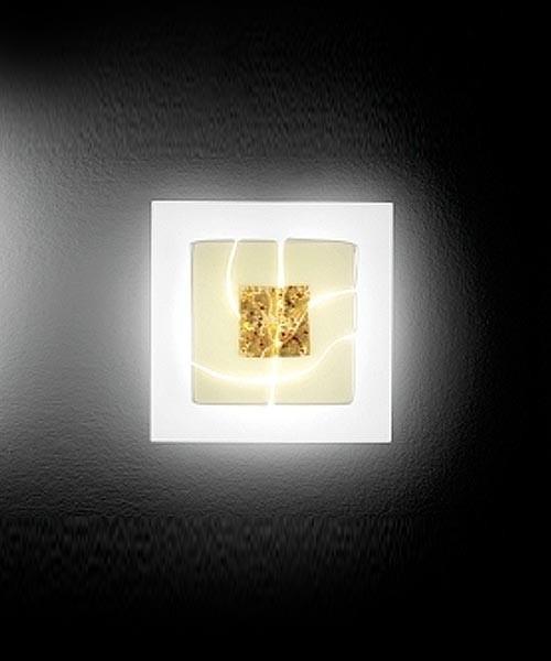 LEUCOS Laguna P35 Delta Lampada Parete 2 Colori
