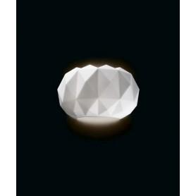 LEUCOS Deluxe 35 P Lampada Parete Vetro Soffiato 2 Colori