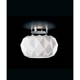 LEUCOS Deluxe 35 PL Lampada Soffitto Vetro Soffiato 2 Colori