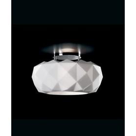 LEUCOS Deluxe 50 PL Lampada Soffitto Vetro Soffiato 2 Colori