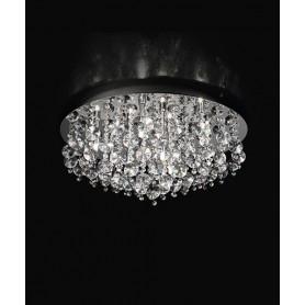 PERENZ 5840 Plafoniera con cristalli 9 Luci