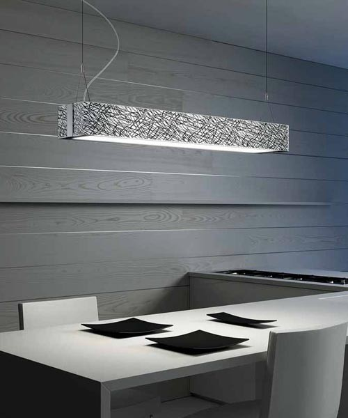 LEUCOS Block S100 Lampada Sospensione 2 Colori R.E