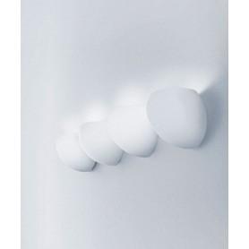 LEUCOS Golf P1 Lampada Parete Vetro Soffiato