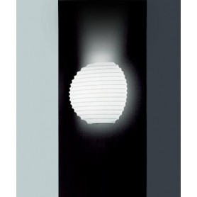 LEUCOS Modulo P35 Lampada Parete Vetro Soffiato R.E.
