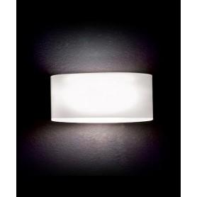 LEUCOS Vittoria P2 Lampada Parete Vetro Soffiato LED