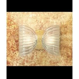 LEUCOS Butterfly P Lampada Parete Cristallo
