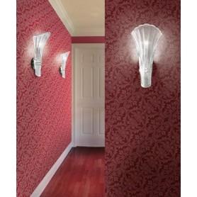 LEUCOS Contessina Mini P Lampada Parete Vetro 2 Colori