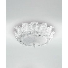 LEUCOS Orseolo Light PL62 Lampada Soffitto Cristallo