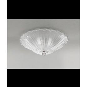 LEUCOS Art. 649 PL55 Lampada Soffitto Vetro