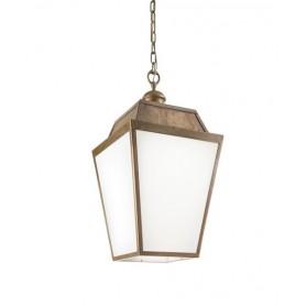 Il Fanale Quadro 262.50 Lanterna Sospensione Rustico Esterno