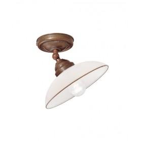Il Fanale Country 082.23 Lampada Rustica Soffitto 1 Luce