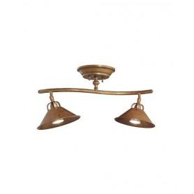 Il Fanale La Cascina 204.22 Lampada Rustica Soffitto 2 Luci