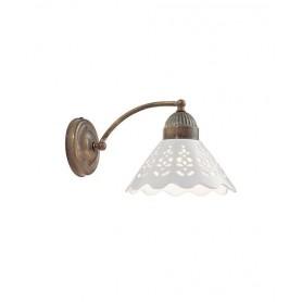 Il Fanale Fiori di Pizzo 065.17 Lampada Rustica Parete 1 Luce