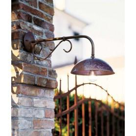 Il Fanale Portico 221.06 Lampada Parete 1 Luce 2 Colori