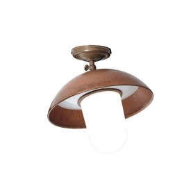 Il Fanale Portico 221.12 Lampada Soffitto Esterno 2 Colori