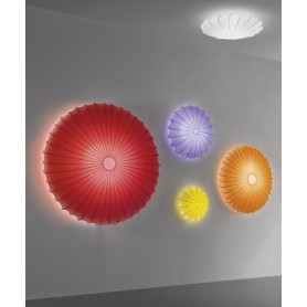 Axo Light Muse 120 Lampada Parete/Soffitto Rosso