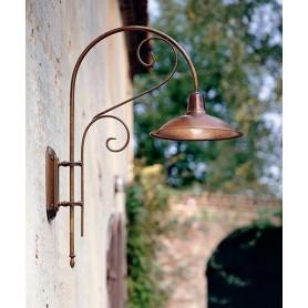 Il Fanale Casale 240.05 Lampada Parete 1 Luce 2 Colori