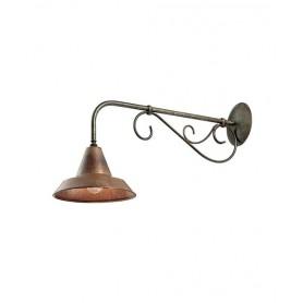Il Fanale Rustica 242.05 Lampada Parete 1 Luce 2 Colori