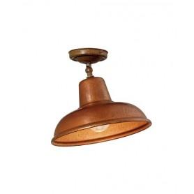 Il Fanale Contrada 243.02 Lampada Rustica Soffitto 1 Luce