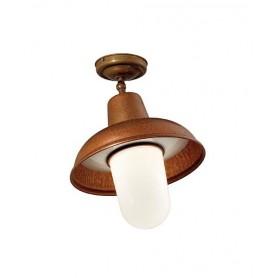 Il Fanale Contrada 243.03 Lampada Soffitto Esterno 2 Colori