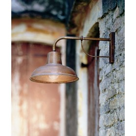Il Fanale Contrada 243.05 Lampada Rustica Parete 1 Luce