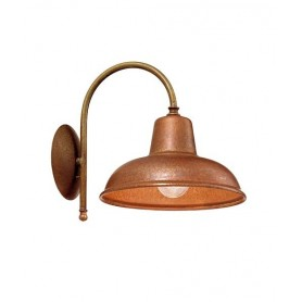 Il Fanale Contrada 243.06 Lampada Rustica Parete 1 Luce