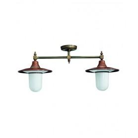 Il Fanale Il Ponte 250.28 Lampada Soffitto 2 Luci 2 Colori