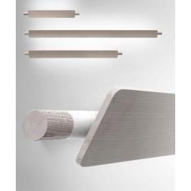 Torremato Ram Media Lampada Parete Legno 54w R.E