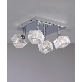 Toplight Metropolitan 1047/PL4-G Lampada Soffitto