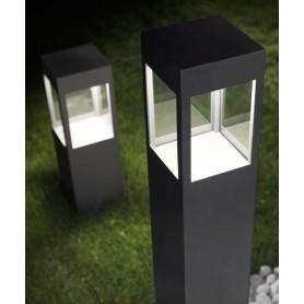 Torremato Evelina 100cm Lampada Terra Esterno LED 3000K + E27