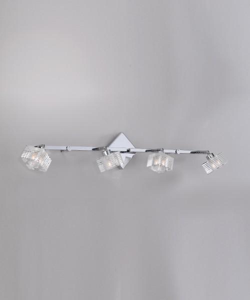 Toplight Metropolitan 1047/F4-G Lampada Parete
